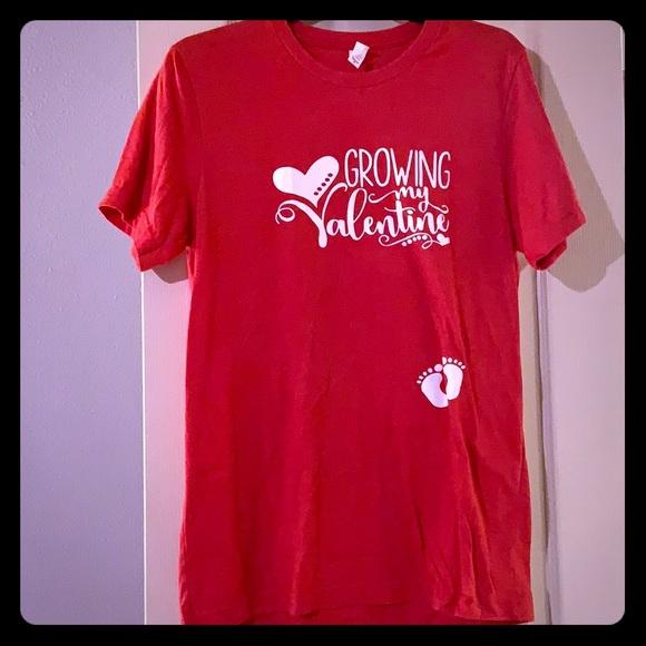 3fbd9a3525c52 Bella Canvas Other   Valentines Day Maternity Shirt   Poshmark